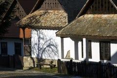 Casas etnográficas de Paloc em Holloko Fotografia de Stock