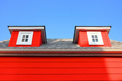 Casas European-style. Fotos de archivo
