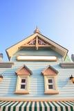 Casas European-style Imagen de archivo libre de regalías