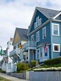 Casas extravagantes Fotografia de Stock