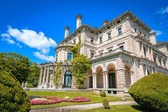 Casas extravagantes na mansão dos disjuntores de América Fotografia de Stock Royalty Free
