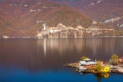 Casas flotantes, Bulgaria Foto de archivo