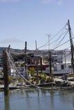 Casas flotantes de Sausalito Imagen de archivo