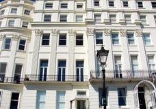 Casas Georgian bonitas Fotografia de Stock