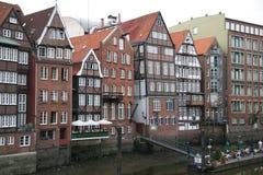 Casas Half-timbered Imagens de Stock