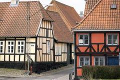 Casas Half-timbered Fotos de archivo