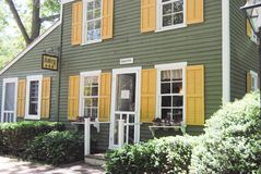 Casas históricas Imagem de Stock Royalty Free