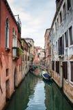 Casas históricas de Grand Canal en Venecia Foto de archivo libre de regalías