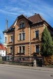 Casas históricas de Trossingen fotografia de stock royalty free