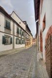 Casas históricas em Bamberga, Alemanha Foto de Stock
