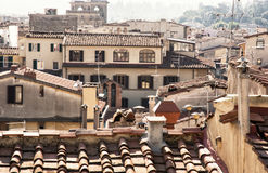 Casas históricas em Florença, Toscânia, Itália Imagens de Stock Royalty Free