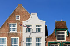 Casas holandesas Imagen de archivo libre de regalías