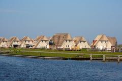 Casas holandesas do feriado fotografia de stock