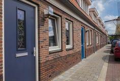 casas holandesas tradicionales Fotografía de archivo