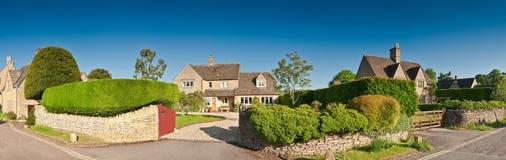 Casas idílico, Reino Unido Fotos de Stock Royalty Free