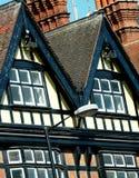 Casas inglesas imagem de stock royalty free