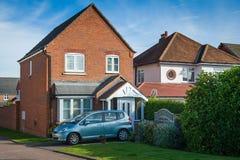 Casas inglesas foto de stock
