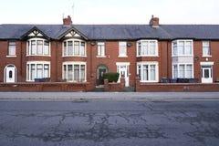 Casas inglesas típicas fotografia de stock royalty free