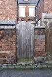 Casas inglesas típicas fotos de archivo