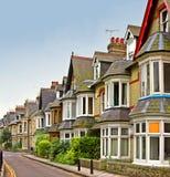 Casas inglesas velhas Imagem de Stock