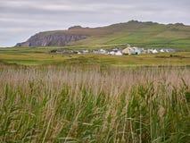 Casas irlandesas típicas Fotos de Stock Royalty Free