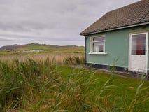 Casas irlandesas típicas Imagem de Stock