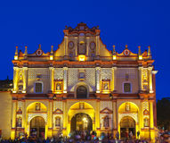 casas katedralny cristobal De Las San Zdjęcia Royalty Free