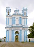 casas kyrktar cristobal de las lucia san santa Arkivbild