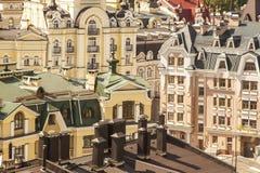 Casas luxuosas coloridas Imagens de Stock