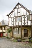 Casas medievales, Francia Fotografía de archivo libre de regalías