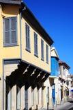 Casas medievales, Nicosia, Chipre, Fotos de archivo libres de regalías
