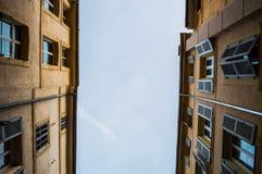Casas mediterrâneas em Aix-en-Provence, França Fotografia de Stock