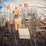 Casas modernas del pájaro Fotos de archivo