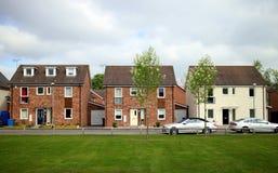 Casas modernas em Inglaterra Imagem de Stock
