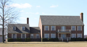 Casas modernas exteriores foto de stock