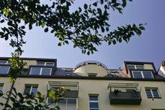 Casas modernas novas Fotografia de Stock Royalty Free