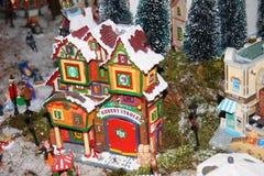 Casas na miniatura Foto de Stock Royalty Free