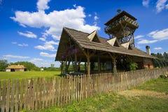 Casas na vila Fotos de Stock Royalty Free