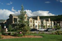 Casas na vizinhança imagens de stock royalty free