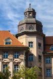 Casas no centro de Praga Imagem de Stock