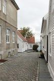 Casas Noruega, Stavanger, Escandinavia Imagen de archivo