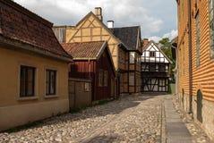 Casas norueguesas tradicionais Fotos de Stock