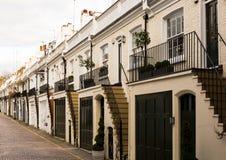 Casas nos miados Imagem de Stock Royalty Free