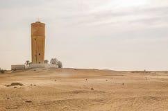 Casas nos oásis no deserto de Sahara, Tunísia Fotos de Stock
