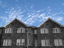 Casas novas Fotografia de Stock Royalty Free