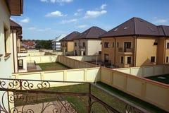 Casas novas Imagem de Stock