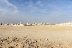 Casas novas no deserto (Omã) Imagem de Stock Royalty Free