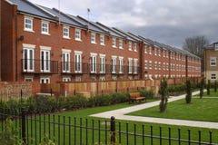 Casas novas - Reino Unido foto de stock
