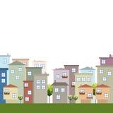Casas para la venta/el alquiler Concepto 6 de las propiedades inmobiliarias Fotos de archivo libres de regalías