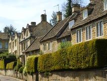 Casas pitorescas, Bradford-em-Avon, Wiltshire, Reino Unido fotos de stock
